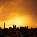 Taipei Sunset Panorama