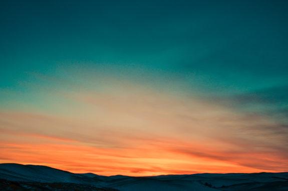 Zonsondergang - fotografie